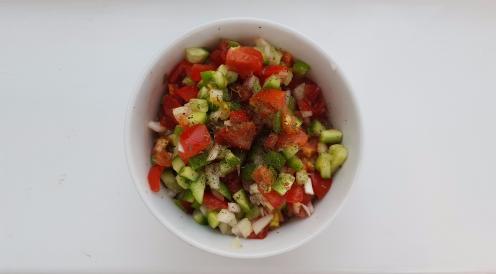Shirazi Salad / Persian Salsa